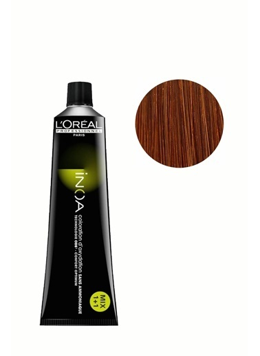 Inoa No:7,35 Saç Boyası 60 Gr,KAHV Kahve